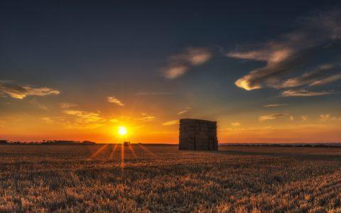Trennung zwischen Wohngebieten und Landwirtschaft - die heranrückende Wohnbebauung